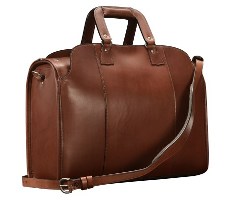 Hand-burnished-espresso-Litigation-Deal-Bag;-19-x-13-x-8'-back
