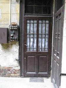 Az eredeti ajtó