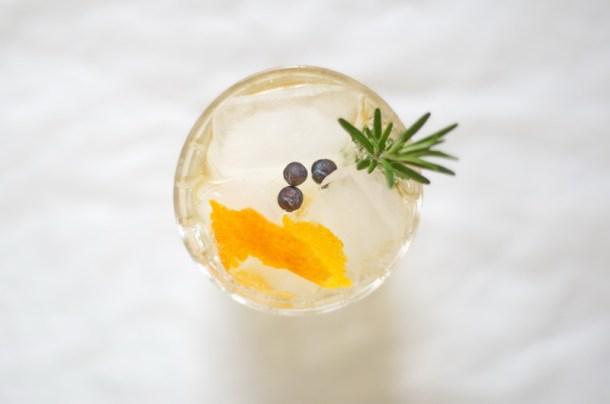 ein Einblick in das Gin und Tonic Glas