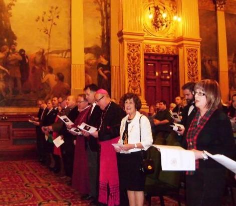 Civic and Church representatives