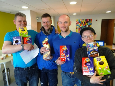 Easter time at Glasgow City Mission