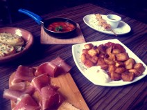 Tapas with Briony at Cubatas