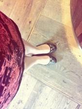 Legs oot!