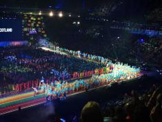 Opening Ceremony - team scotland