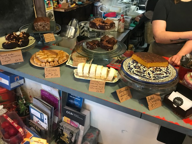 Milk cafe victoria Road govanhill glasgow Cakes