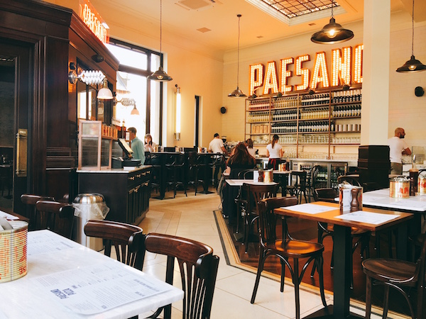Paesano great western road GLasgow