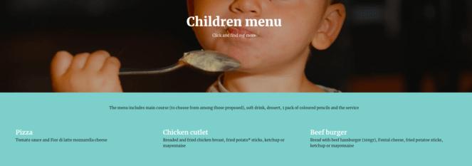 doppio malto menu