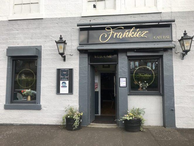 outside frankies barrhead