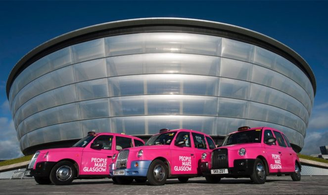 people make glasgow taxi