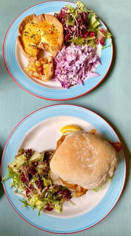 the boathouse rouken glen food