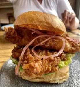 buttermilk chicken burger eala bhan