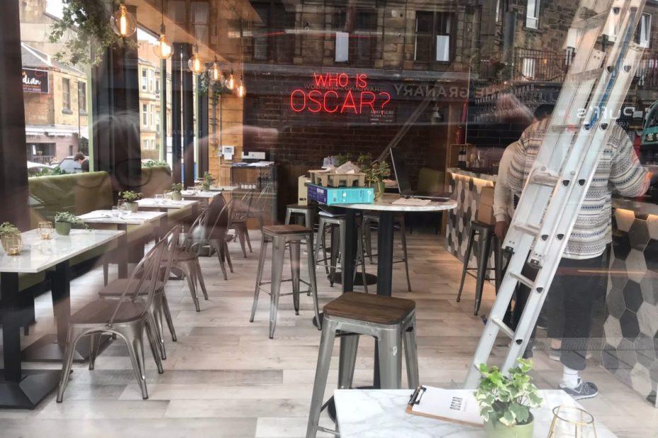 oscar bar and kitchen shawlands