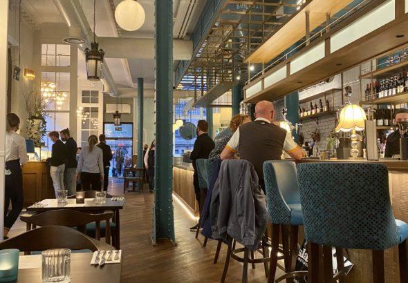 Roberta's Glasgow inside