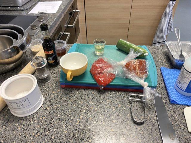 the cook school scotland ingredients
