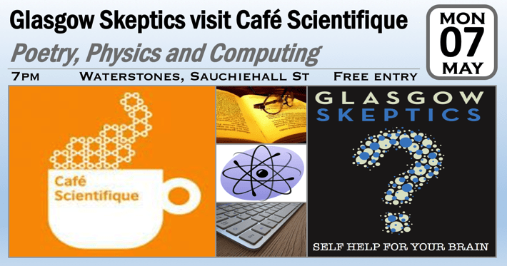 Cafe Scientifique event poster