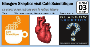 Cafe Sci event poster
