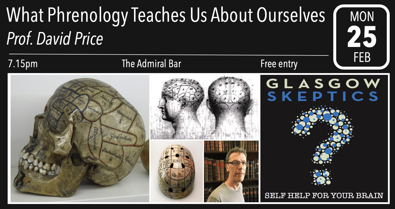 Phrenology - event poster