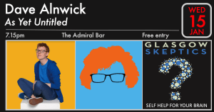 Dave Alnwick event poster