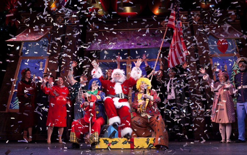 A previous cast of Miracle on 34th Street. Photo Credit Darren Bell (3)