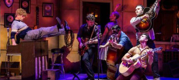 million dollar quartet review glasgow king's theatre