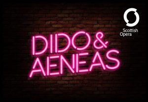 Scottish opera dido and Aeneas connect company