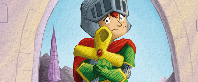 illustration of prince charming as a child