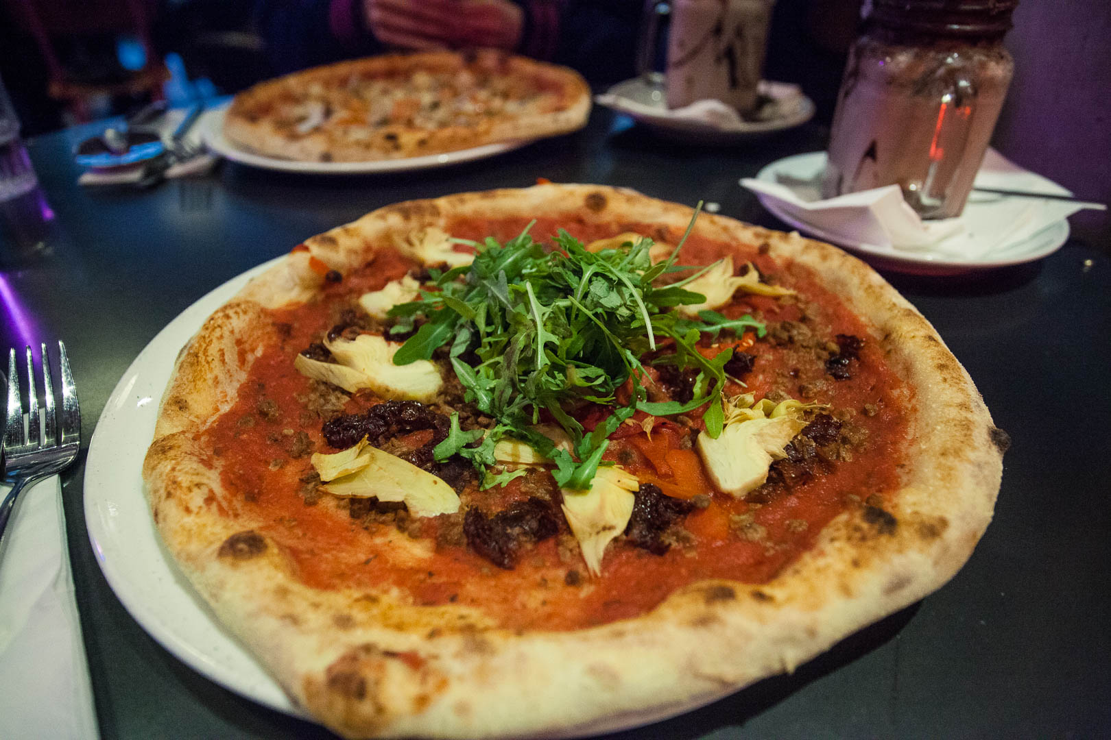 "Restaurant Review: Pizza Punks Glasgow | Glasgow Vegan Guide | Pizza Punks Glasgow is a trendy pizza joint in the city centre of Glasgow. They are particularly famous for their ""punked up"" pizzas, which are completely customisable with as many toppings as you like, without paying extra! There are plenty of vegan options to choose from and a first class Veganuary deal!"