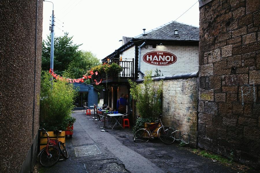 Hanoi Bike Shop Glasgow - restaurant