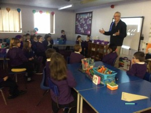 Our learning visit from the Astronomy Society.