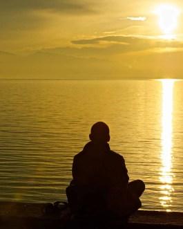 Meditation, Lindau, Bodensee 1