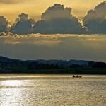 Sonnenuntergang in Hopfen am See 1