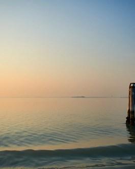 Sonnenuntergang,Die Lagune von Venedig 7