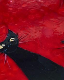 Schwarze Katzenfamilie 6
