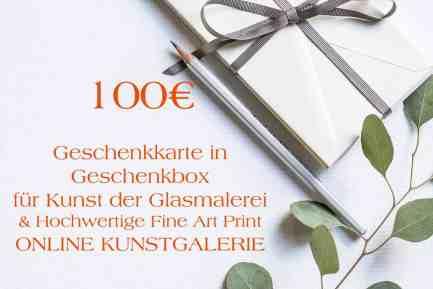 100 Euro Geschenkkarte in Geschenkbox