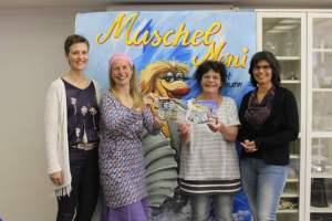 vlnr: Heike Schnack, Janet Lindemann, Janni Feuser, Susann Heilmann