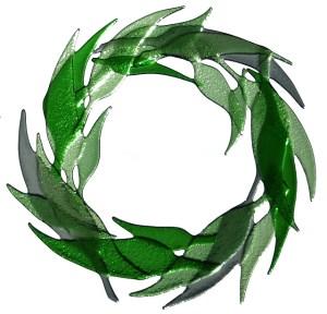 """""""Wreath"""" (Reifen) Objekt von Minna Tuohisto-Kokko"""