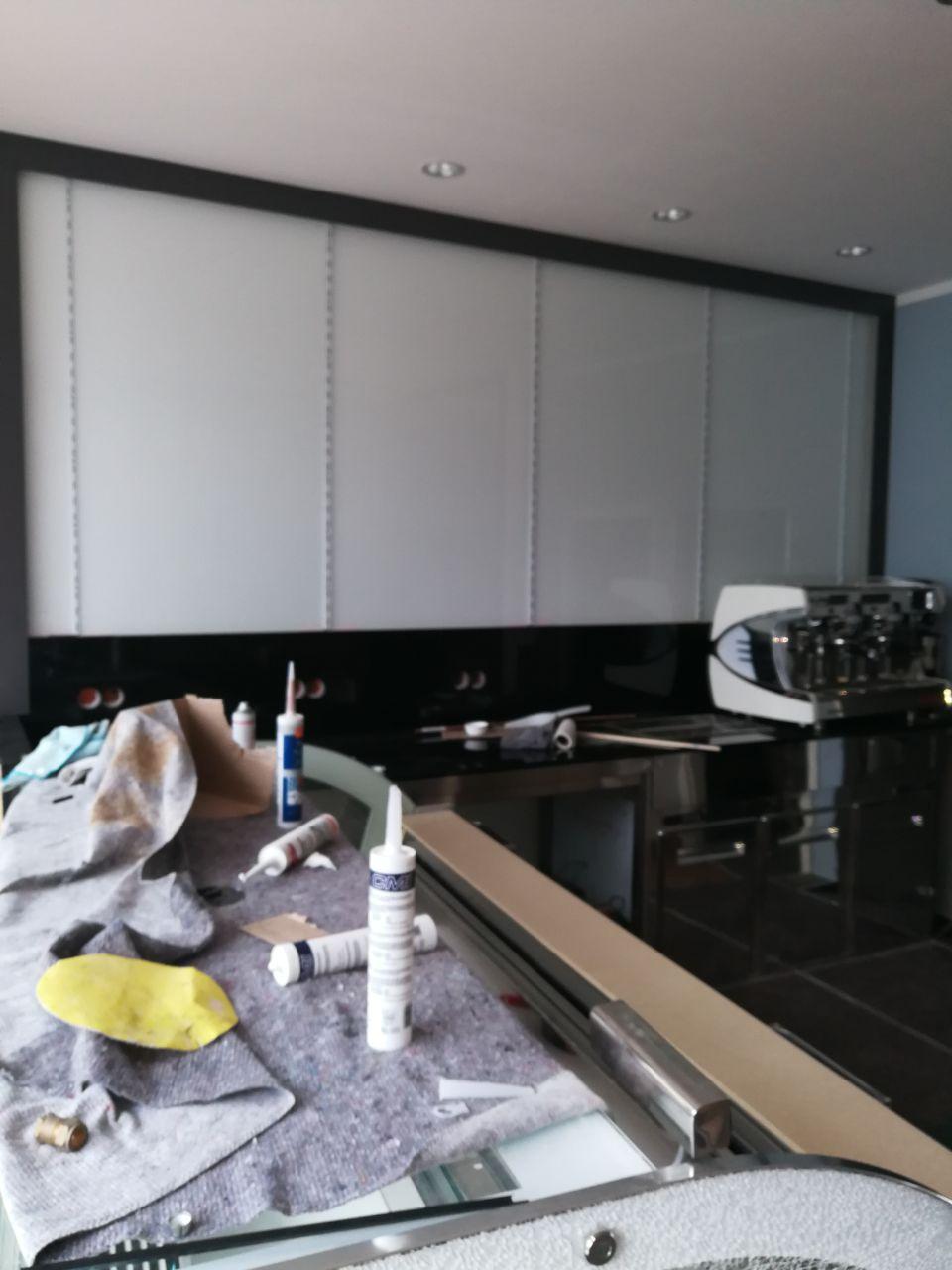 Glas für Küchenrückwand