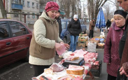 вулична торгівля
