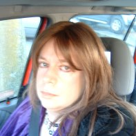Just me sitting the car