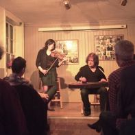 Delta ladies at Islington Folk Club
