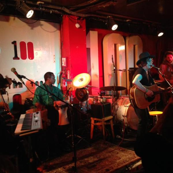 Delta ladies at the 100 club 2016