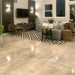 Diy Metallic Epoxy Flooring Over Gypsum Underlayment For Your Home