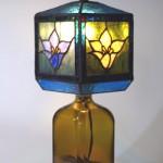「四角瓶の四面ランプ」