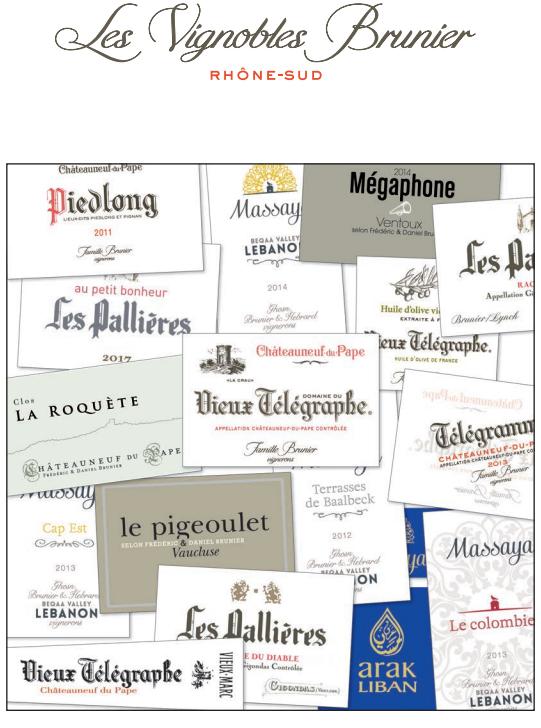 Les ChâteauNeuf du Pape - Les Vignobles Brunier