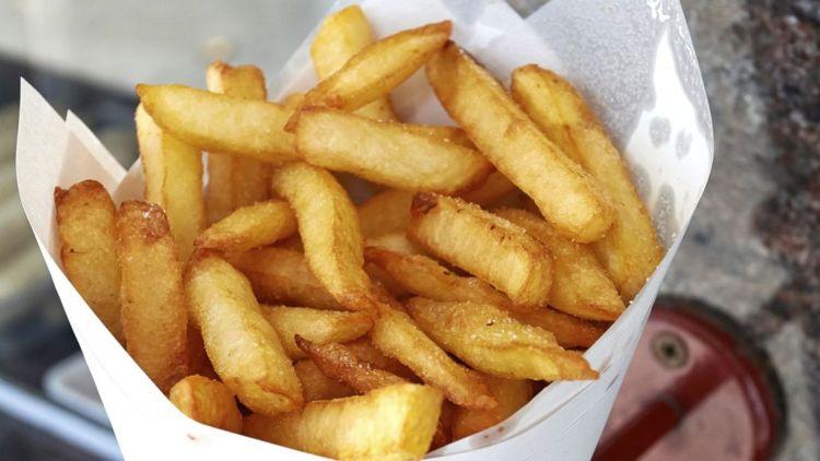Cornet de frites belges