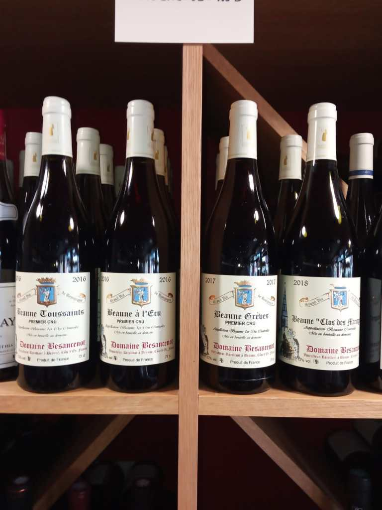 Domaine Besancenot in Beaune in Bourgogne