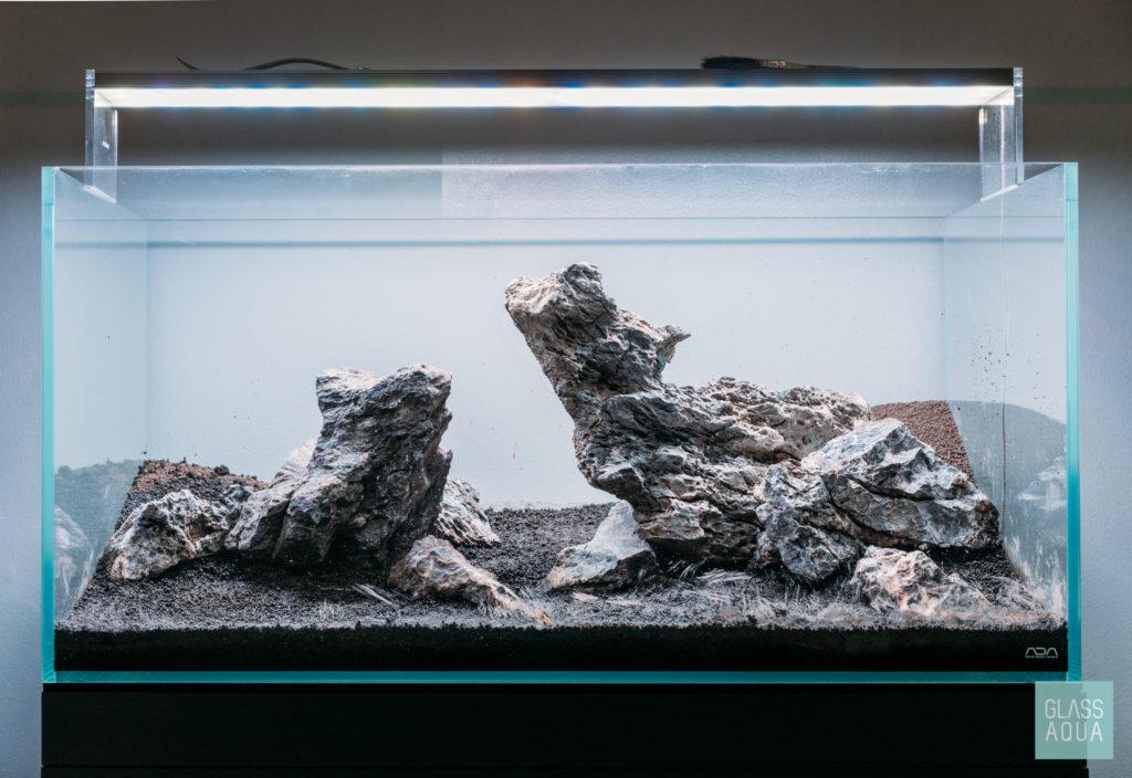 Ada 90 P Planted Tank Gallery Glass Aqua