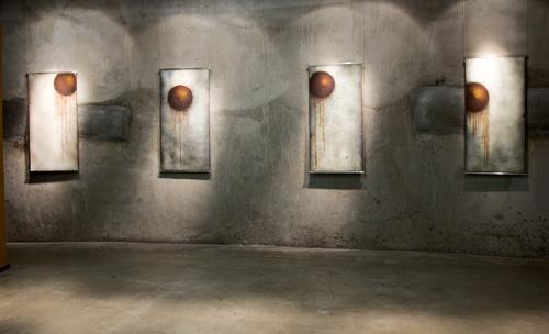 Ted Sawyer at the Bullseye Gallery at SOFA