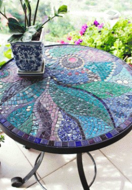 Amazing  Mosaic Tabletop from HubPages