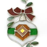 Free Stained Glass Christmas Ornament Project Guide